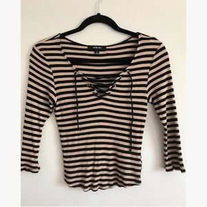 Active USA striped top